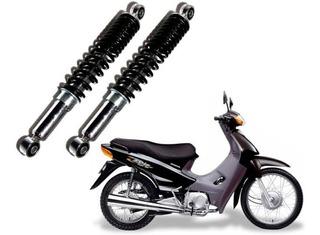Par Amortecedor Traseiro Honda Biz 125cc 00