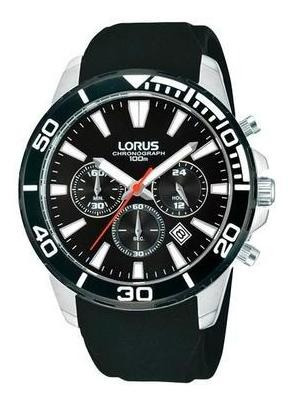 Reloj Lorus Rt341cx9 Para Caballero Correa De Caucho