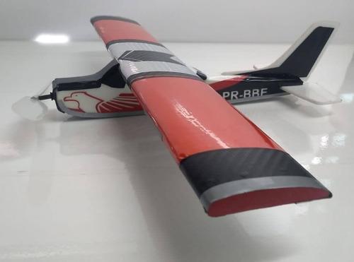 Aviao De Isopor Vermelho