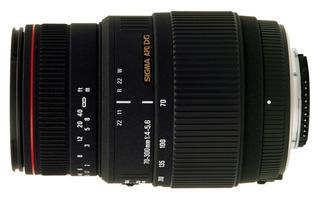 Lente Sigma 70-300mm Dg Macro F4-5.6 Sony Canon Pentax Nikon