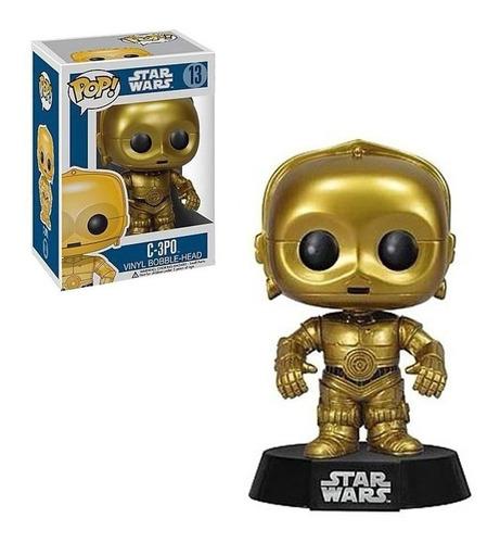 Figura Funko Pop Star Wars C-3po 13