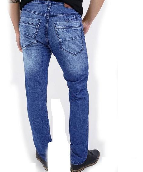 Jeans Rigidos Clasicos Rectos Por Mayor Pack De 12 Unidades