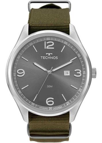Relógio Technos Masculino Classic Steel 2115mua/8v