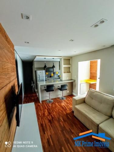 Imagem 1 de 15 de Lindo Apartamento Decorado Flex Osasco 2 - 1491