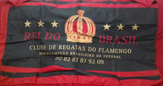 Bandeira Flamengo Rei Do Brasil Oficial