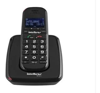 Telefone Sem Fio Intelbras Ts 63v Com Id E Viva Voz