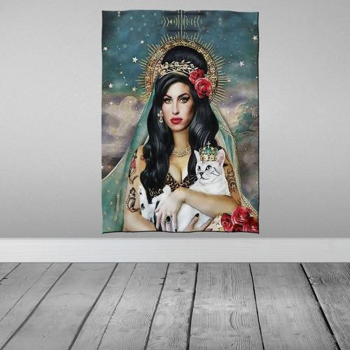 Imagem 1 de 3 de Stompy Tecido Decorativo Decoração Amy Cat