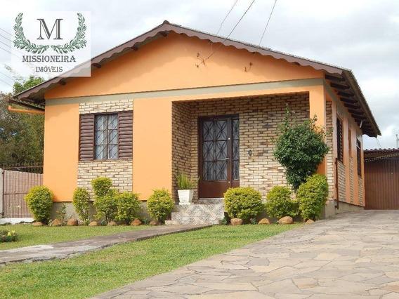 Casa Com 3 Dormitórios À Venda, 140 M² Por R$ 235.000,00 - Planalto - Viamão/rs - Ca0057