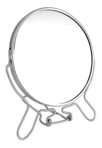 Espelho Para Banheiro Estilo Industrial Com Aumento