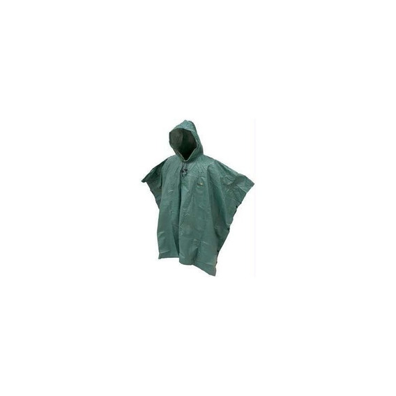 Frogg Toggs Packable Adult Poncho - Verde