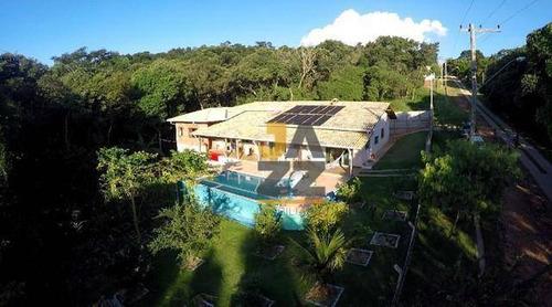 Chácara Com 6 Dormitórios À Venda, 2200 M² Por R$ 950.000,00 - Estância Santa Maria Do Laranjal - Atibaia/sp - Ch0597