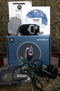 Motorola V300 En Caja, Con Accesorios Y Funcionando