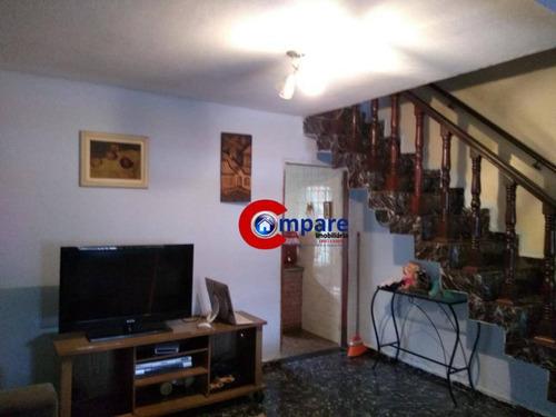 Imagem 1 de 9 de Sobrado Com 2 Dormitórios À Venda, 121 M² Por R$ 500.000,00 - Vila Progresso - Guarulhos/sp - So2206
