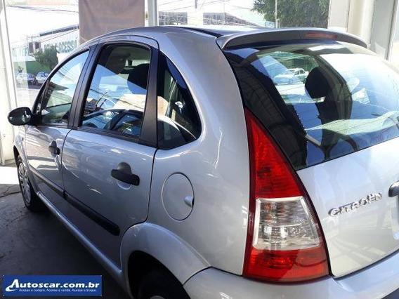 Citroen C3 Glx 1.4 2008 Prata Completo