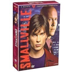 Dvd Smallville 5ª Temporada 6 Dvds