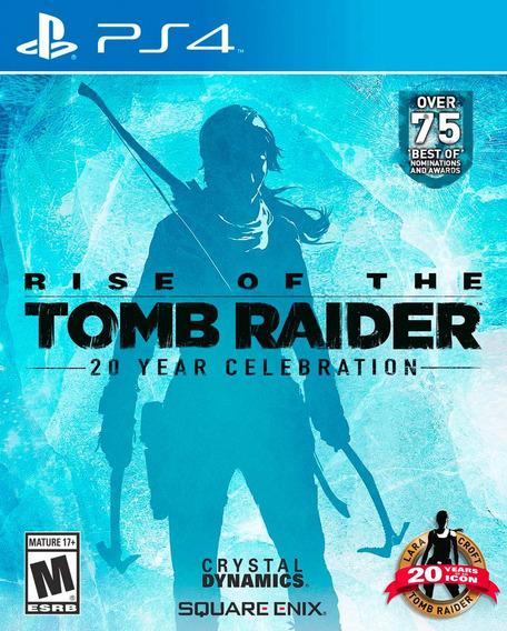 Rise Of Tomb Raider 20 Year Celebration Ps4, Pronta Entrega