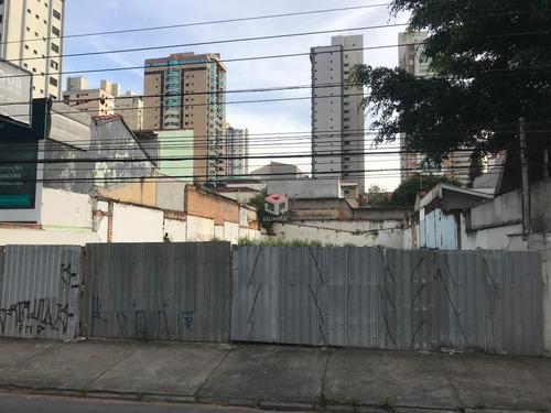 Imagem 1 de 4 de Terreno À Venda, Jardim - Santo André/sp - 86344