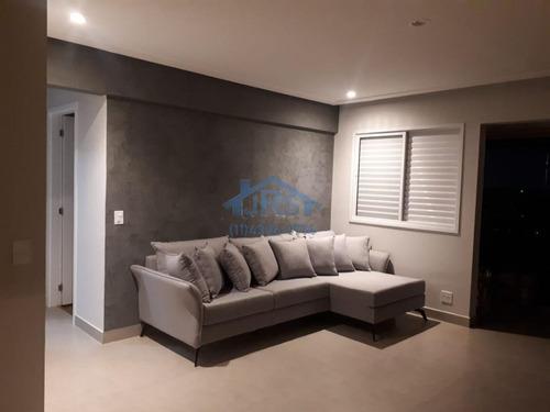 Condomínio Splendya I Apartamento Com 2 Dormitórios À Venda, 81 M² Por R$ 795.000 - Empresarial 18 Do Forte - Barueri/sp - Ap4339