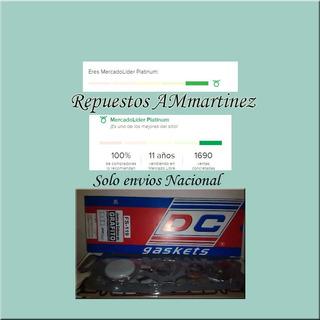 Juego O Kit De Empacaduras Ford 300 M/viejo Ref45