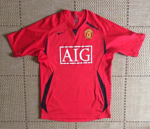 Camisa Original Manchester United 2008/2009 Pré Match