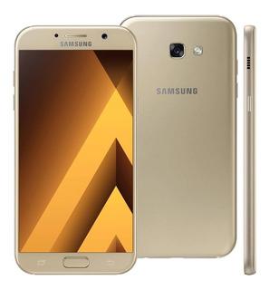 Samsung A7 2017 32gb Dourado Leia O Anúncio
