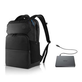 Mochila Notebook Dell Pro 15,6 + Gravador Dvd Externo Dw316