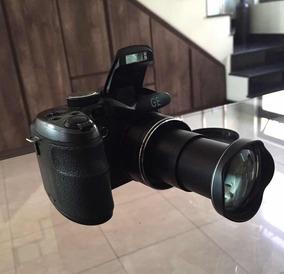 Câmera Digital Semiprofissional Ge X5 - Preta