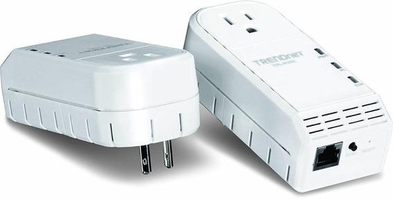 Trendnet 500 Mbps Powerline Ethernet Av Adapter Kit With Bon