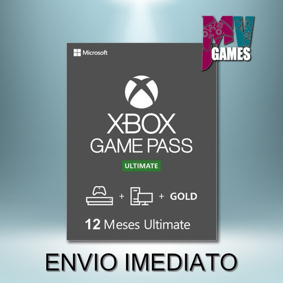 Xbox Game Pass Ultimate 12 Meses Codigo 25 Digitos
