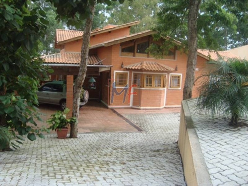 Imagem 1 de 16 de Ref: 10.458 Linda Casa  Térrea  Cond. Fechado  370 M²  A.c., 3 Dorm, (3 Suítes) , 18 Vgs Bairro Parque Nova Jandira. Aceita Proposta E Permuta. - 10458