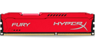 Memoria Ram Ddr3 4gb 1600mhz Hyperx Fury Gamer Colores