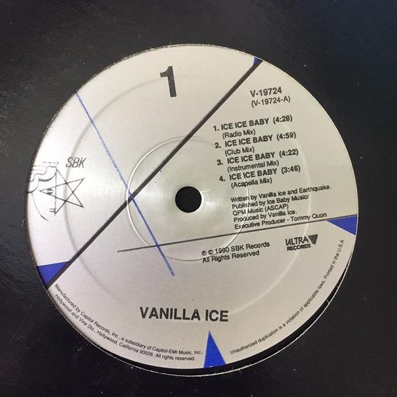 Vanilla Ice - Ice Ice Baby (muchobeat) Vinyl 90s