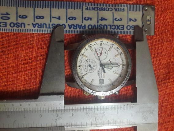 Relógio Antigo Seiko 7t32-7e60 Chronograph Leia Descrição