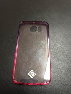 Case Protector Rigido Transparente Samsung S6 Edge