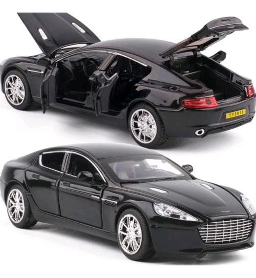 Miniatura Aston Martin Rapide 1:32 Abre 4 Portas Capo E Far