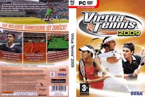 Virtua Tennis 2009 Para Pc Cd Original Lacrado Midia Física