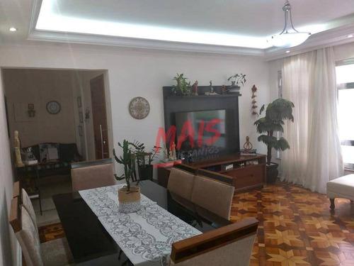 Apartamento À Venda - Aparecida - Santos/sp - Ap5893