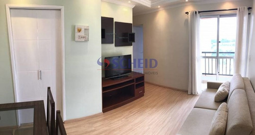 Imagem 1 de 15 de Apartamento No Condomínio Buena Vista  - Andar Alto - Sol Da Tarde -  Com Vista Livre. - Mr76124