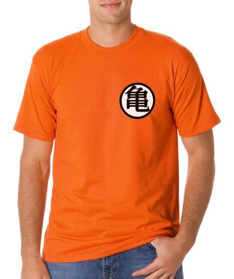 Envio Gratis Playera Goku Traje Entrenamiento Logo Dragon Bl