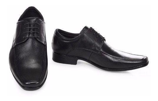 Sapato Jota Pe 13156 Social Couro Legítimo Frete Grátis