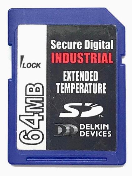 Cartao Memoria Sd Delkin Devices 64 Mb Industrial