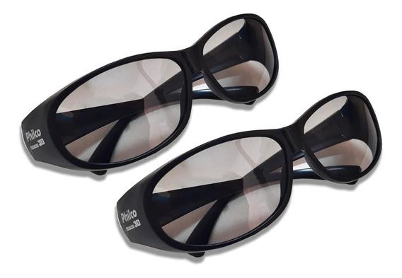 Par De Óculos 3d Philco LG Sony Samsung Philips Toshiba Novo