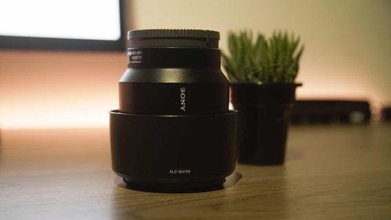 Lente Sony 85mm 1.8 E-mount