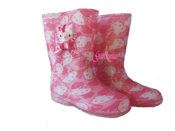 Botas De Lluvia Hello Kitty