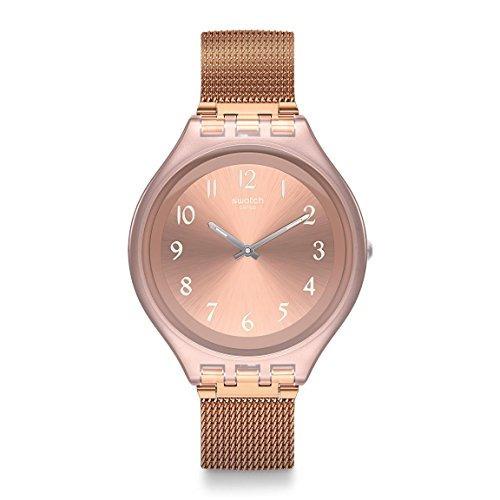 Rosado Reloj Swatch Color Acero Para Svup100m En Mujer 0XNwnPk8O