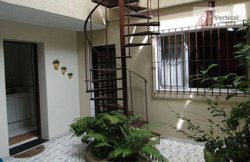 Sobrado Com 3 Dormitórios À Venda, 250 M² Por R$ 1.000.000,00 - Tatuapé - São Paulo/sp - So0483