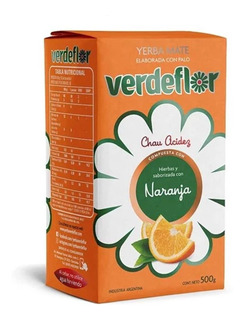 Yerba Mate Naranja