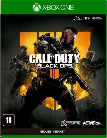 Call Of Duty Black Ops 4 Mídia Física Novo Lacrado