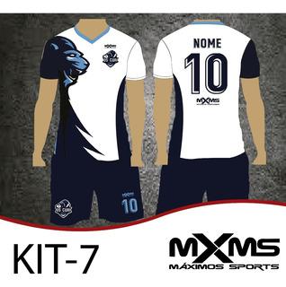 Kit 10 Uniformes Futebol Em Dry Sports