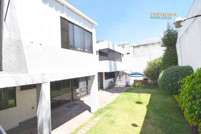 Oportunidad Casa En Venta, Con Vigilancia, Jardin, Televisa, San Angel Inn